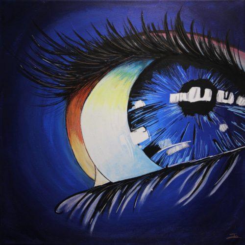 Un voile dans l'oeil