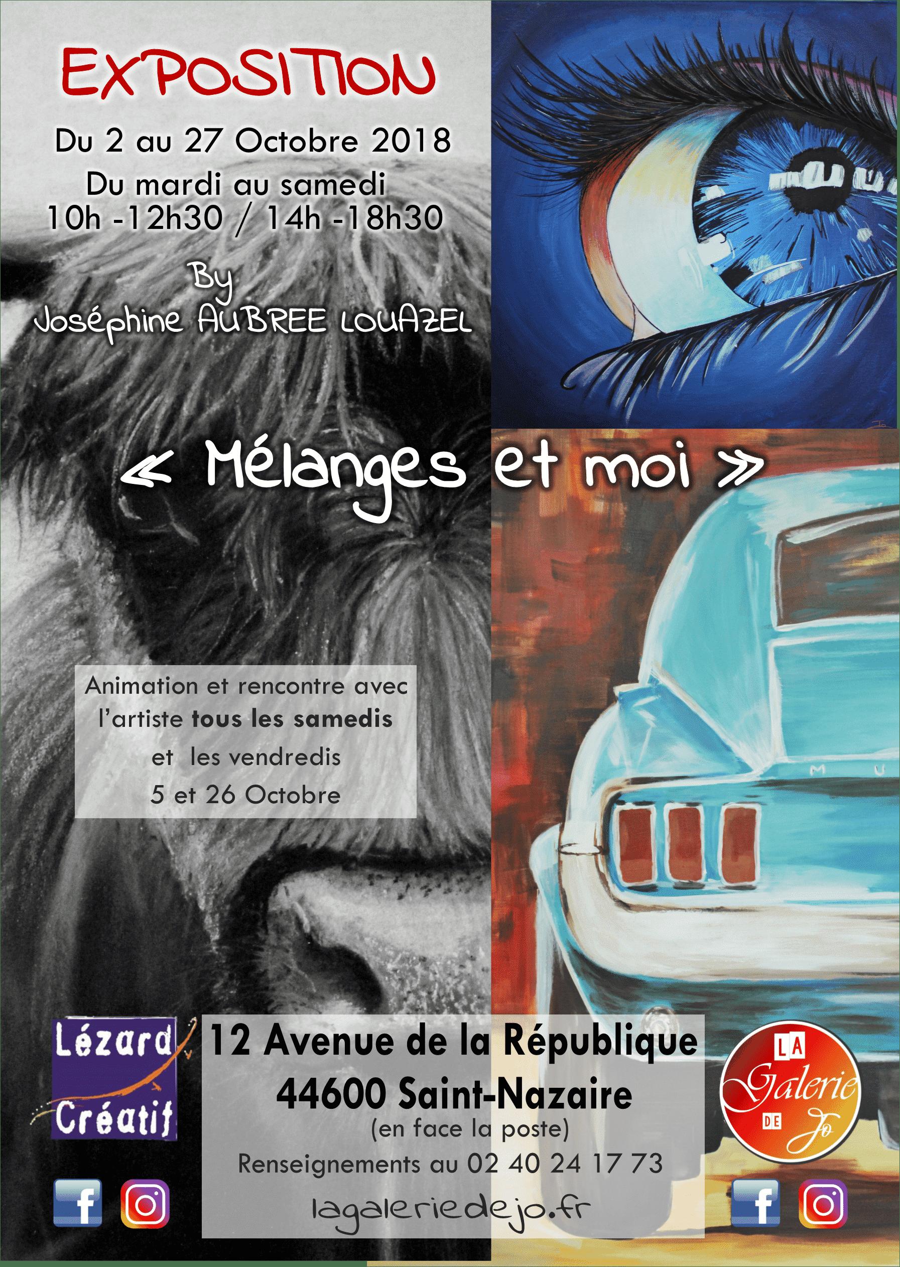 Affiche exposition Saint Nazaire