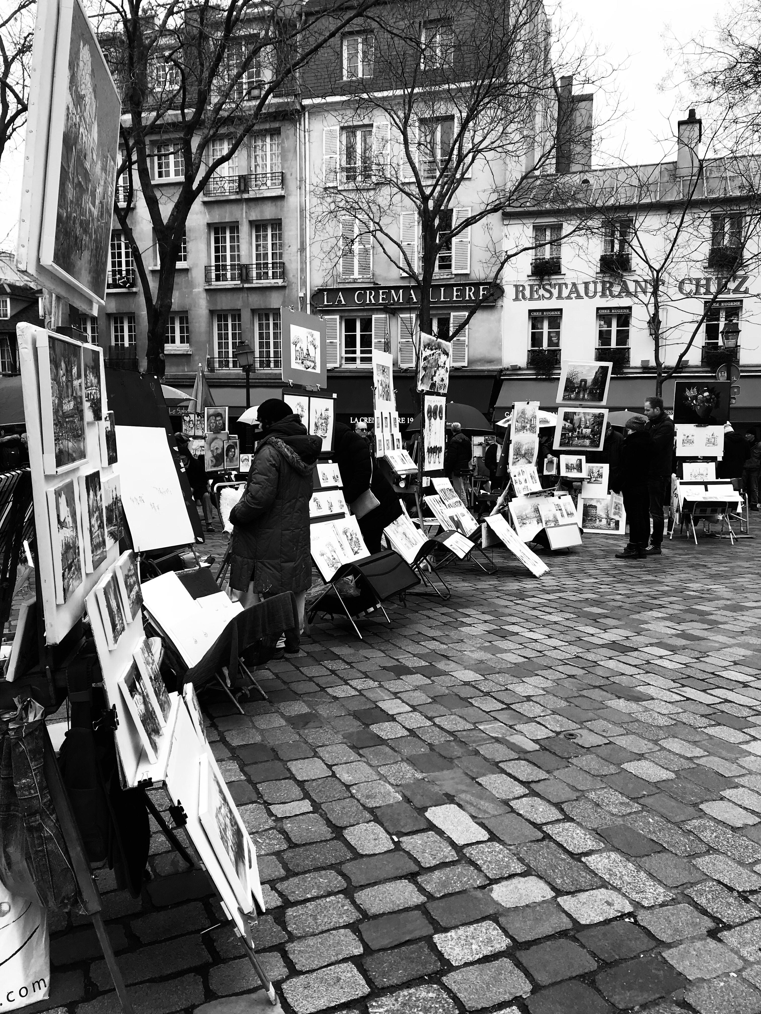 Petit tour au pays des Artistes à Montmartre.