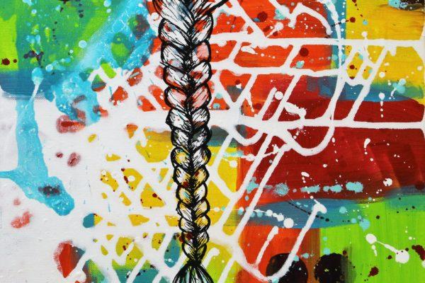 Peinture acrylique Vendu