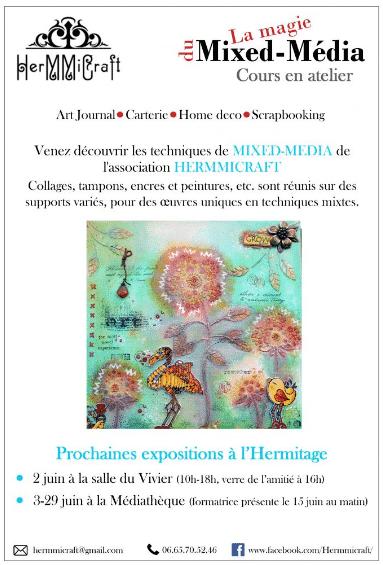 Exposition mix média