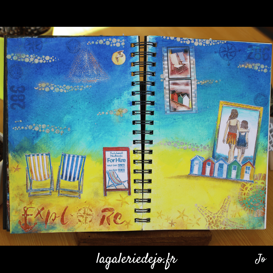 Art Journal - Plage