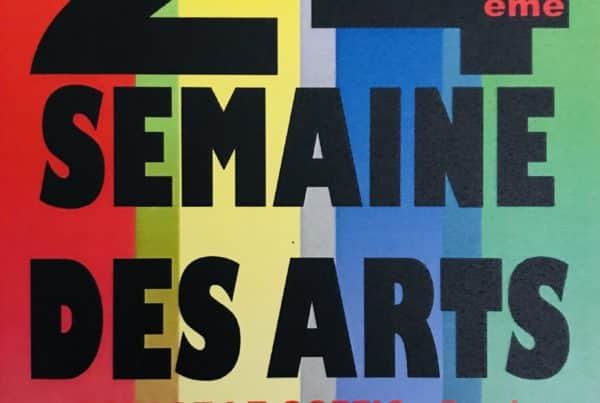 Affiche 24ème semaine des arts à Pacé