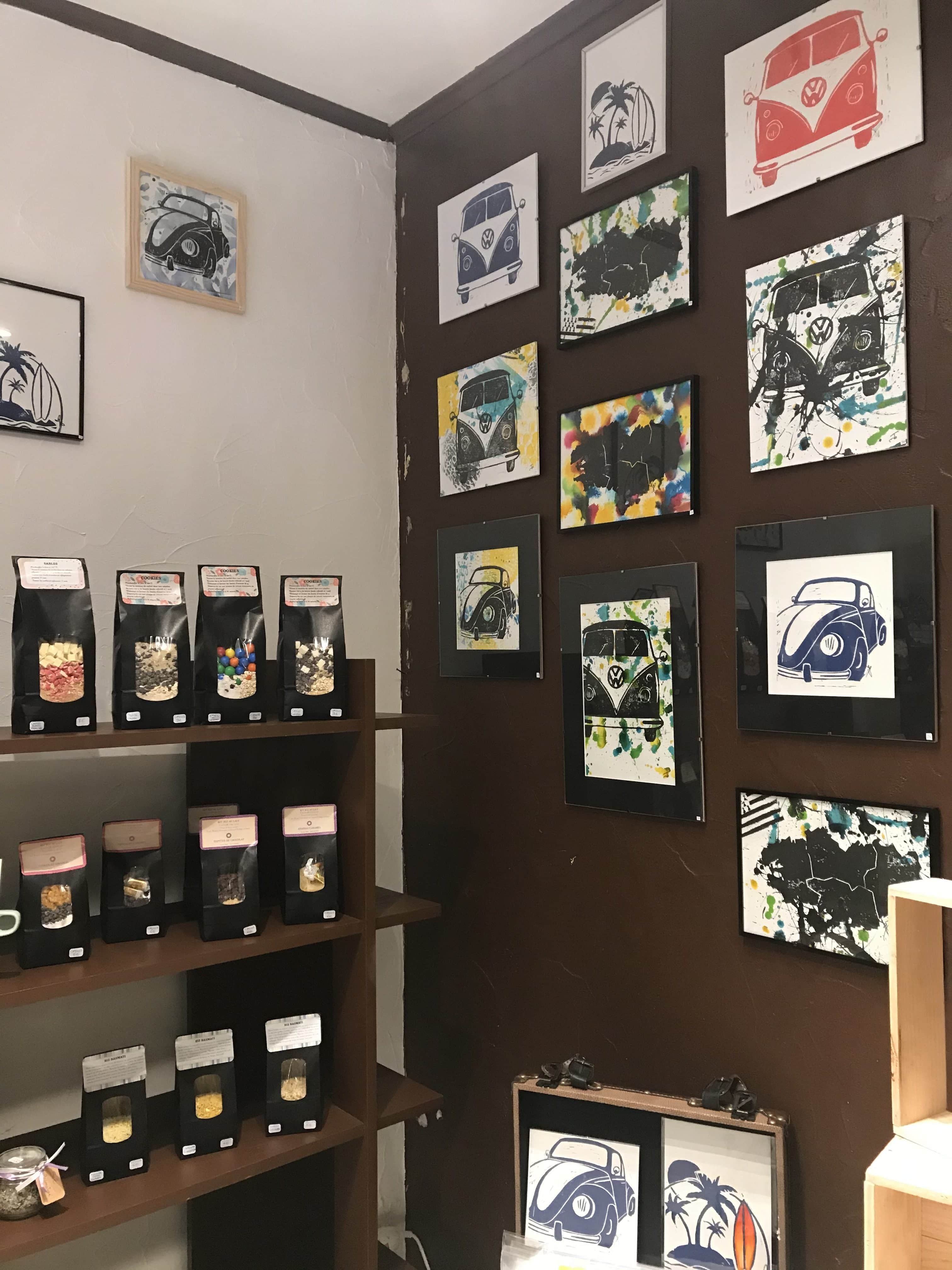 Linogravure à Evran chez Ty Artisans