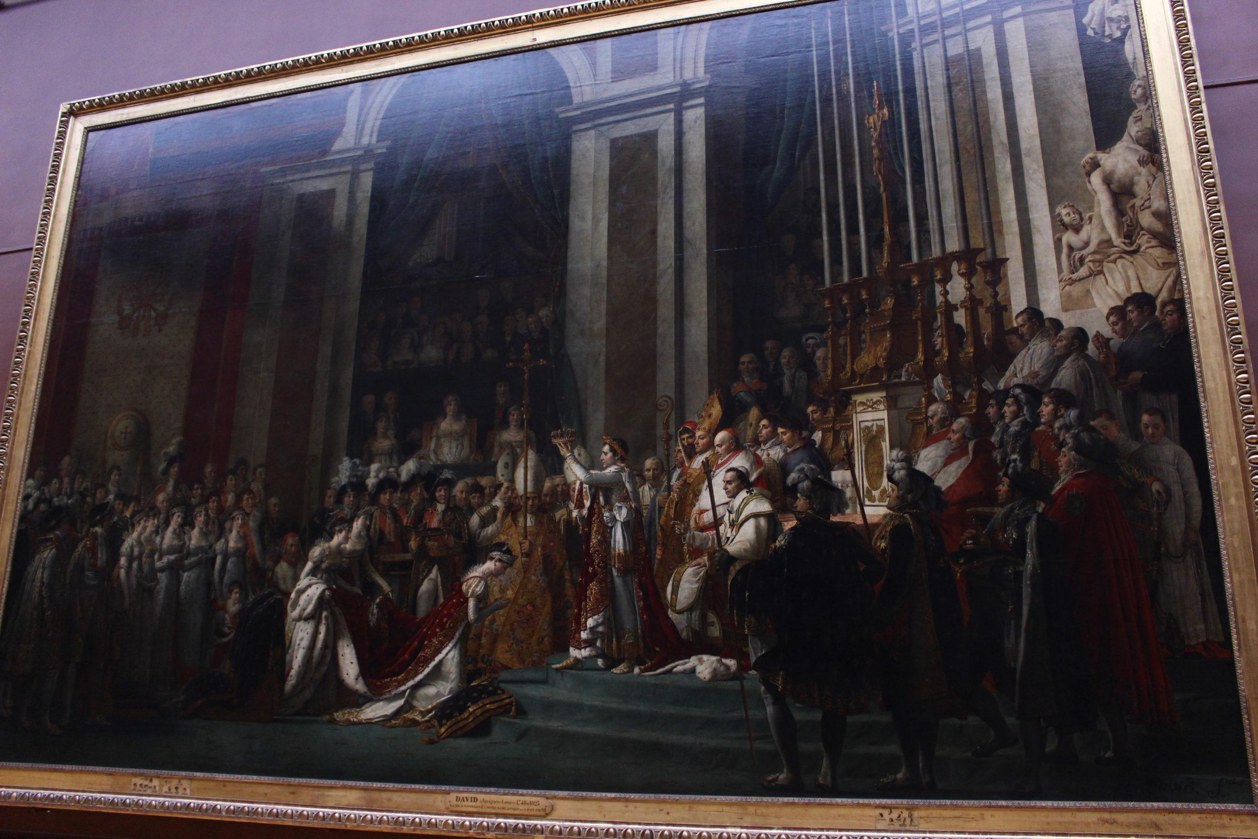 DAVID - Sacre de l'empereur Napoléon Ier