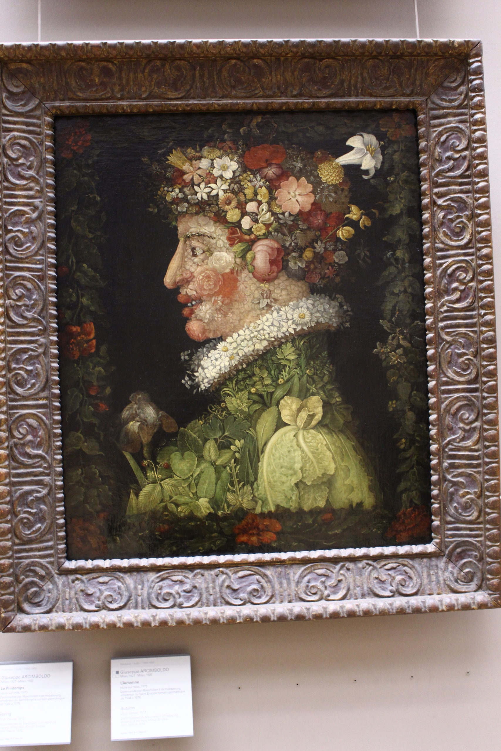 Giuseppe Arcimboldo - Louvre