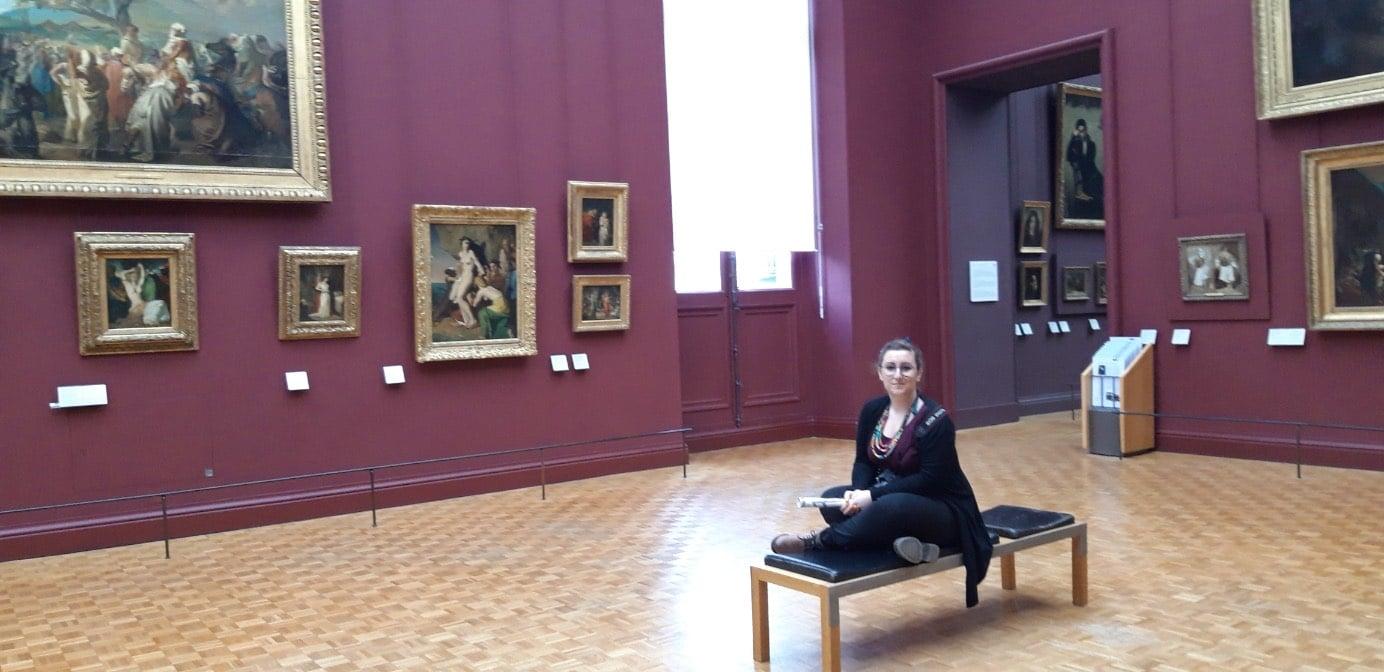 Seul au Louvre - Paris
